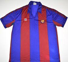 1984-1989 BARCELONA MAYBA HOME FOOTBALL SHIRT (SIZE XL)