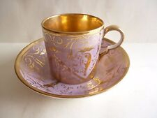 N°2 PORCELAINE DE PARIS TASSE LITRON A CAFE  OLD CUP COFFEE EPOQUE EMPIRE