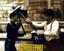 STREETS OF FIRE Tom Cody MICHAEL PARE signed photo!