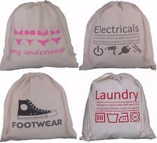 4PACK Travel Bag Set Drawstring,underwear,lingerie,laundry wash holiday suitcase