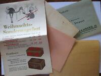Kaffee Tee Weihnachten Strauß Mohr, Werbung Reklame ca. 1930 (49433)