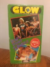 Vtg 1989 NOS Sealed GLOW Gorgeous Ladies Wrestling VHS Video Tape pre WWE