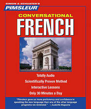 Conversational French by Pimsleur (CD-Audio, 2011)