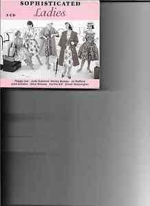 Various Artists - Sophisticated Ladies ( EMI 3 CD In Cardboard Slip  Case 1999 )