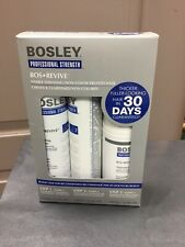 BOSLEY REVIVE Non Color Starter Kit Visibly Thin Hair, Shampoo, Cond, Treatment