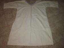 Vintage Handmade Cotton 1940's Or 1950's Nightgown (VINTAGE SLEEPWARE & ROBES)