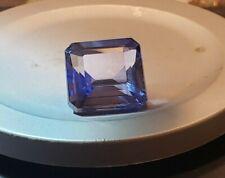 9Ct Asscher Cut CornFlower Blue Sapphire Loose For Jewelry.