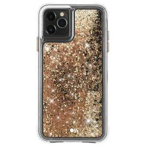 CASE-MATE Waterfall Gold 10ft Drop Protection for iPhone 11 Pro Max/ XS Max