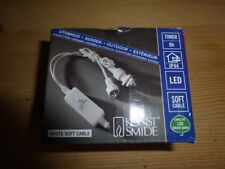 Konstsmide Timer  -  9 Stunden  -  für 24V LED Lichterketten  -  im Originalkart