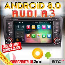 "AUTORADIO 8"" Android 8.0 DVD Octa-Core 2GB 32GB AUDI A3 (2003-2011) S3 RS3 RN..."