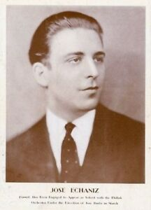 CUBAN PIANIST JOSÉ ECHÁNIZ (1905-1970) CD