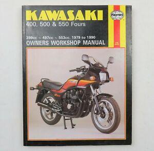 Haynes Kawasaki 400 500 & 550 Fours Service Repair Workshop Manual 1979 -1990