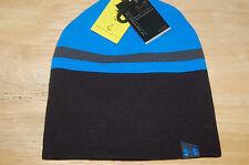 under armour mens 4 in 1 beanie 2.0 coldgear hat black blue jet reversible osfa