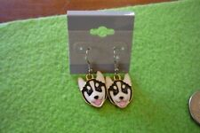 Husky Malamute Dog Earrings