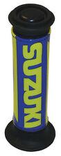 Guidons, poignées et leviers bleus pour motocyclette Suzuki