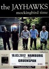 JAYHAWKS - 2012 - Konzertplakat - Mockingbird Time - Tourposter - Hamburg