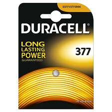 100x Duracell 377 1.5v Silver Oxide Watch Battery Batteries SR626SW AG4 626 D377
