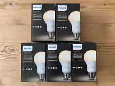5 X Philips Hue E27 White