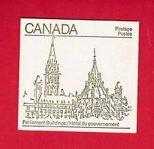 1982 CARNET TIMBRES CANADA BOOKLET  STAMPS   BK83  MAPLE LEAF ISSUE