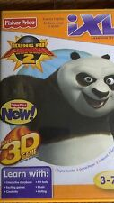 Fisher Price iXL 3D Game  Kung Fu Panda Boys & Girls 3-7yrs Letters,Numbers 2011
