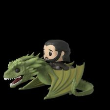 Jon Snow On Rhaegal Dragon Funko Pop Rides - Game of Thrones In Hand