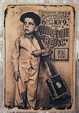 """Vaudeville Frolic "" Cigar Box Guitar Poster - printed on 12x18"" Heavy Kraft"