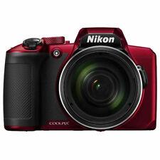 Nikon Coolpix B600 16MP Digital Camera 60x Optical Zoom Red Full-HD (Red)