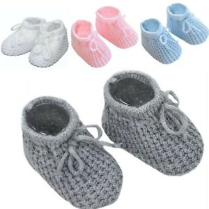 Baby soft knitted booties BABY SOCKS