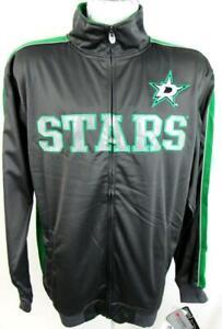 Dallas Stars Big Mens 2X 3X MT LT XLT Full Zip Embroidered Track Jacket ADAS 9