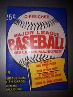 1983 OPC BASEBALL WAX PACK O PEE CHEE OPC .  fresh from box ! Gwynn Sandberg