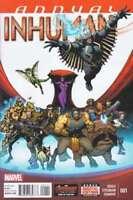 Inhuman Annual #1 marvel comics cover a 1st print SOULE