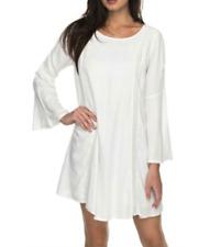 ROXY EAST COAST DREAMER Boho Casual White Summer Dress Tunic Sz XL-NWT!