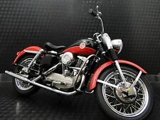 1950s Harley Davidson Motorcycle Model Easy Rod Custom Rider Touring Bike  1 10
