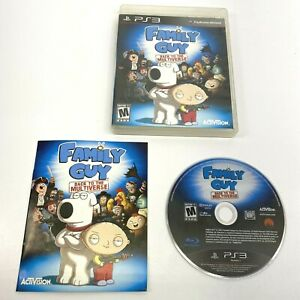 Family Guy Back To The Multiverse Sony Playstation PS3 Complete.          VB