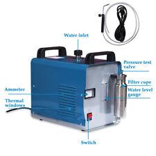 H180 95L Portable Oxygen Hydrogen Water Welder Flame Polishing Machine W/ Blade