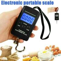 LCD Electronic Digital Portable Scale Luggage Weight Hanging 50KG to Travel J2G4