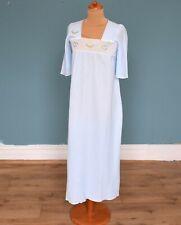 Vintage 70's Pale Blue Nightdress Nightshirt Retro Boho 8