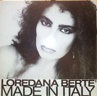 VINILE LP LOREDANA BERTE' - MADE IN ITALY 33 GIRI ANNO 1981 ARIOLA 203 927-320