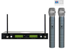 Better Music Builder VM-88 DUAL CHANNEL RECHARGEABLE WIRELESS MICROPHONE SYSTEM