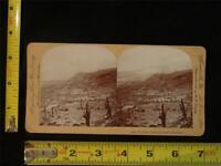 Keystone Stereoview - Martinique Volcano Mt Pelee, Looking Northwest, c.1903