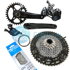 New 2019 Shimano XTR M9100 MT900 Group Groupset 1x12-speed 170mm 34T