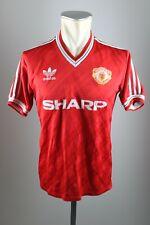 Manchester United Trikot 1986-88 Gr. XS-S  Adidas Jersey Sharp vintage 90s