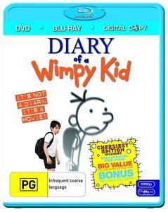 Diary Of A Wimpy Kid Blu Ray ....region B ...