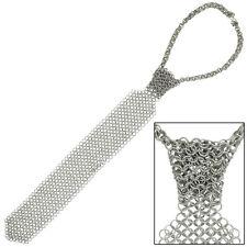Medieval Renaissance Middle Ages Body Armor Decorative Chainmail Shirt Necktie