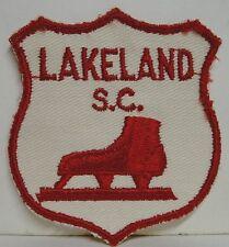 1950's Lakeland Skating Club Patch