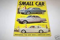 JAN 1960 SMALL CAR PARADE magazine