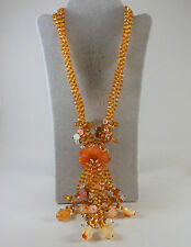 *ONE OF A KIND* CARNELIAN STERLING SILVER NECKLACE