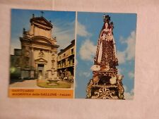 Vecchia foto cartolina d epoca di Pagani Santuario Madonna delle Galline da per