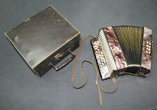 HOHNER LILIPUT Hand- Ziehharmonika Akkordeon 23x22x13cm mit original Koffer