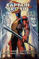 Captain Britain Omnibus Variant Cover First Edition Oop Ohc Hc Rare Alan Moore
